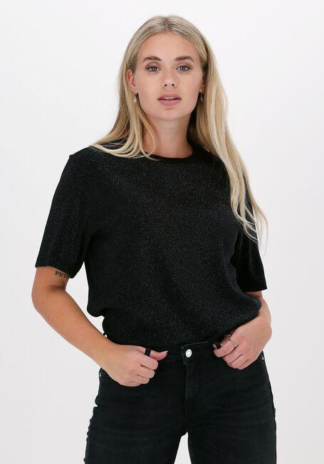 Zwarte SCOTCH & SODA T-shirt LOOSE FIT T-SHIRT 163780  - large