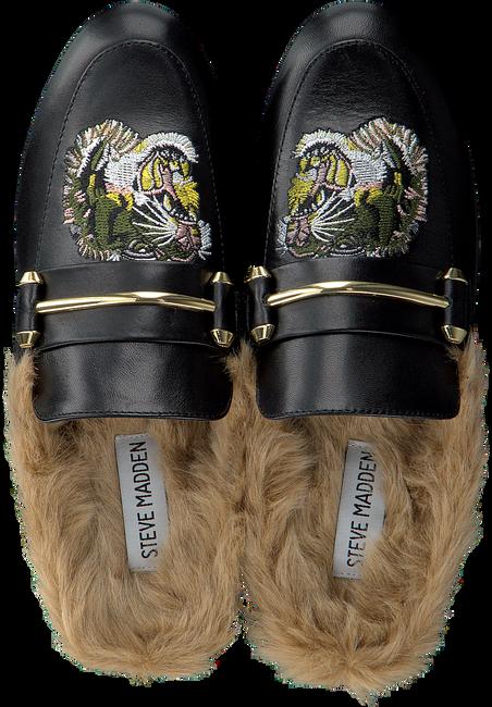 Zwarte STEVE MADDEN Loafers KING-P MULE  - large