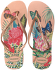 Roze HAVAIANAS Slippers SLIM TROPICAL  - small