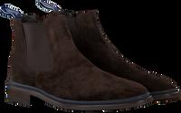 Bruine FLORIS VAN BOMMEL Chelsea boots 10669  - medium