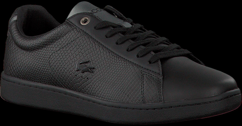 4eb0f0eff30 Zwarte LACOSTE Sneakers CARNABY EVO HEREN - Omoda.nl