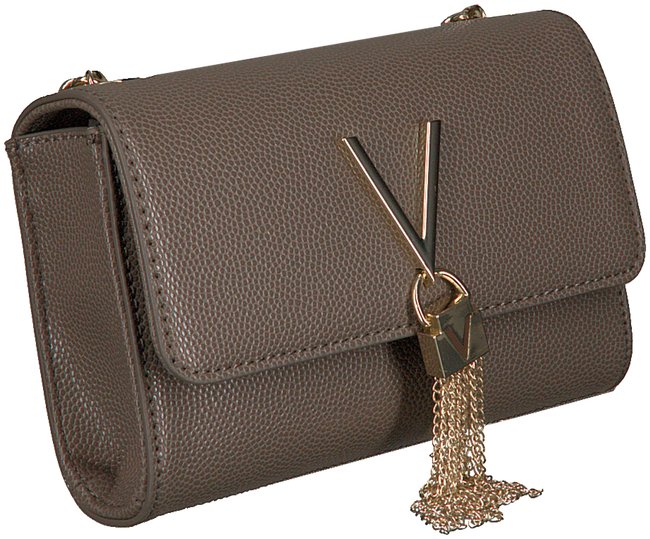Taupe VALENTINO BAGS Schoudertas DIVINA CLUTCH - large