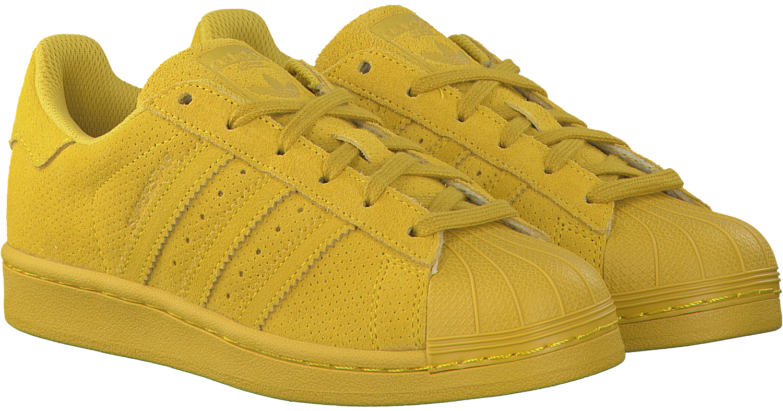 3a362eaabab Gele ADIDAS Sneakers SUPERSTAR J - Omoda.nl