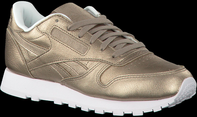 Chaussures De Sport D'or Reebok Cl Cuir Wmn QkdmqUVJjl