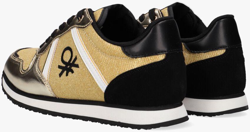 Gouden BENETTON Lage sneakers QUARREL MIX  - larger