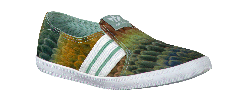 adidas slip groen