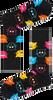 Zwarte HAPPY SOCKS Sokken CAT - small