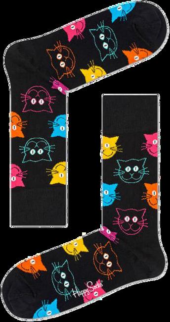 Zwarte HAPPY SOCKS Sokken CAT - large