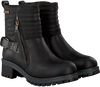 Zwarte YELLOW CAB Biker boots Y26148  - small