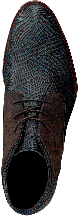 Zwarte REHAB Nette schoenen SALVADOR ZIG ZAG  - larger
