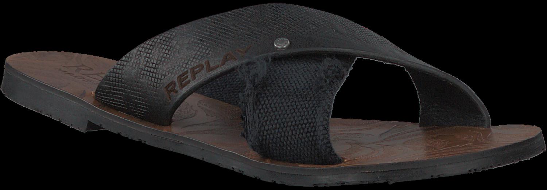 Pantoufles Replay Noir MTzRn