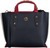 Blauwe TOMMY HILFIGER Handtas TOMMY CHAIN SM TOTE - small