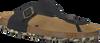 Zwarte DEVELAB Slippers 48079  - small