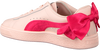 Roze PUMA Sneakers BASKET BOW JR - small