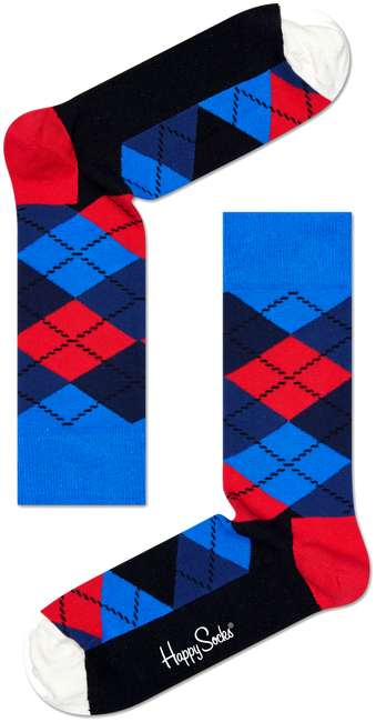 HAPPY SOCKS SOKKEN ARGYLE - large