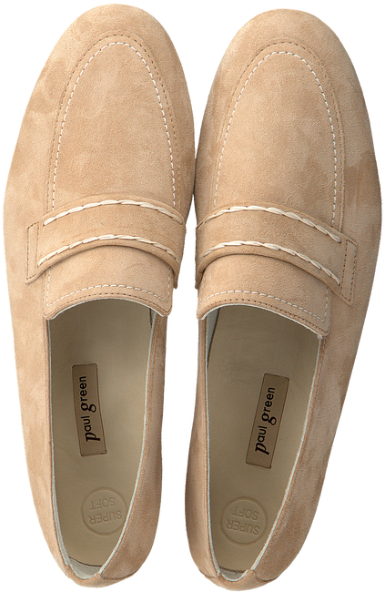 Beige PAUL GREEN Loafers 2504 - large