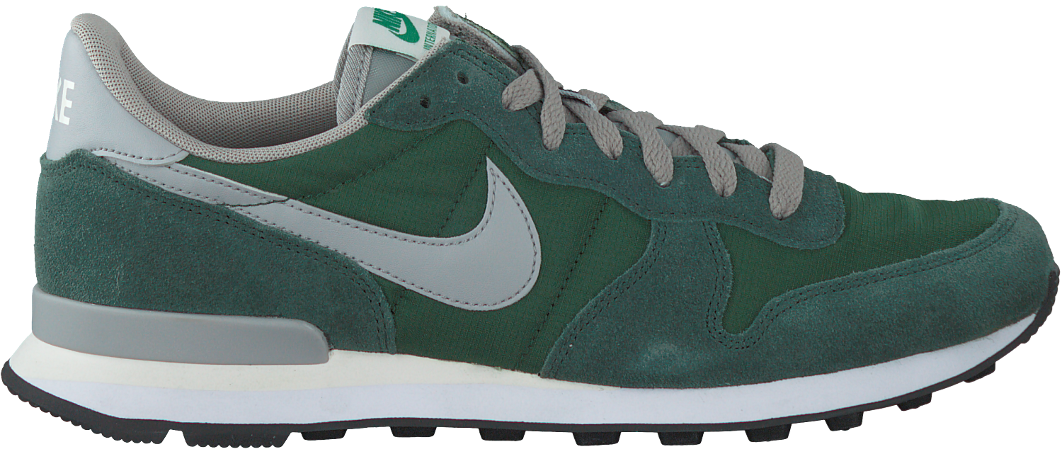nike internationalist zwart groen