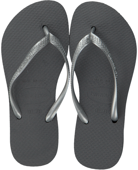 Zilveren HAVAIANAS Slippers SLIM KIDS - large