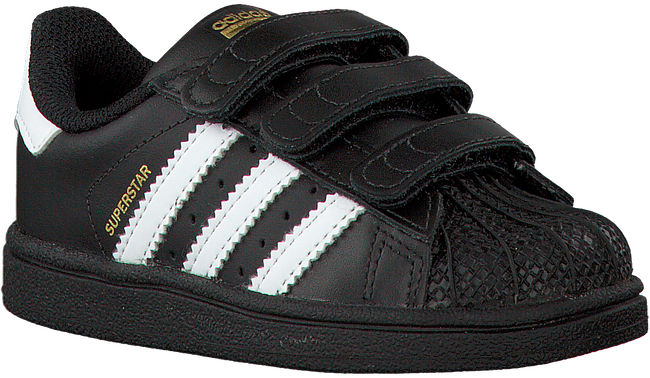 Zwarte ADIDAS Sneakers SUPERSTAR CF  - large