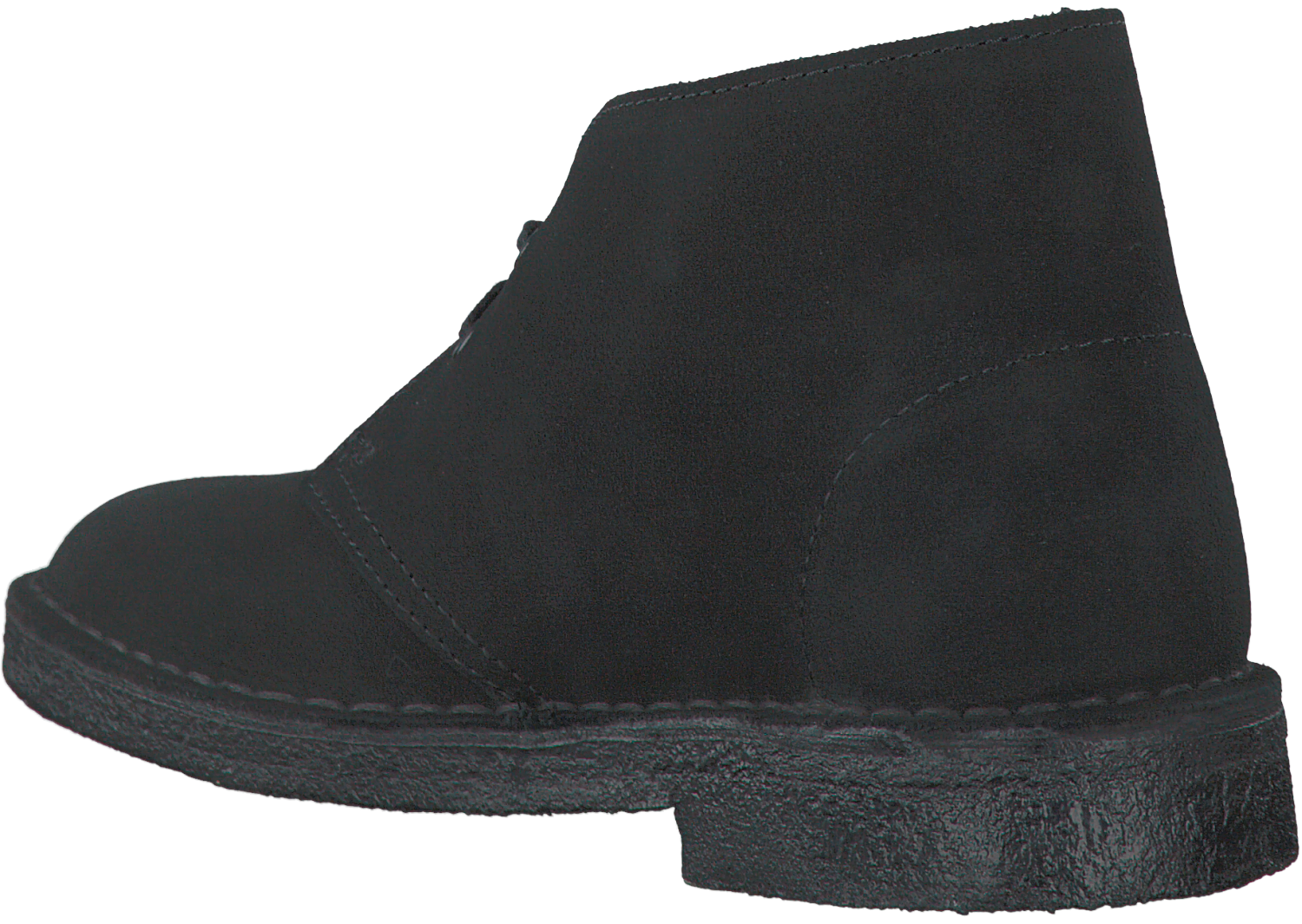 c39e98b9cd4 Zwarte CLARKS Enkelboots DESERT BOOT DAMES - large. Next