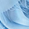 Blauwe ROMANO SHAWLS AMSTERDAM Sjaal PASH PLAIN  - small