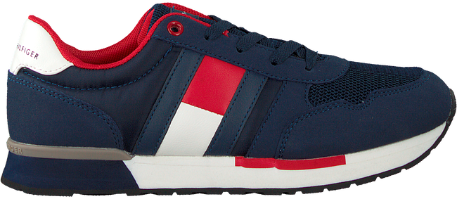 Blauwe TOMMY HILFIGER Lage sneakers LOW CUT LACE-UP T3B4-30482 - large