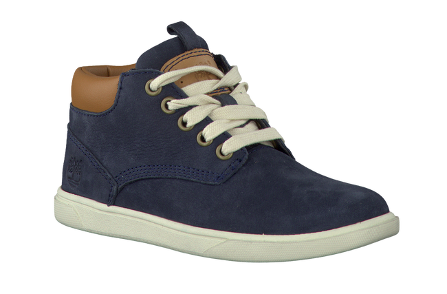 Blauwe TIMBERLAND Enkelboots GROVETON LEATHER CHUKKA  - large