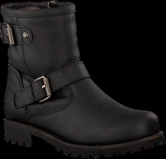 Zwarte PANAMA JACK Biker boots FELINA IGLOO B11 - large