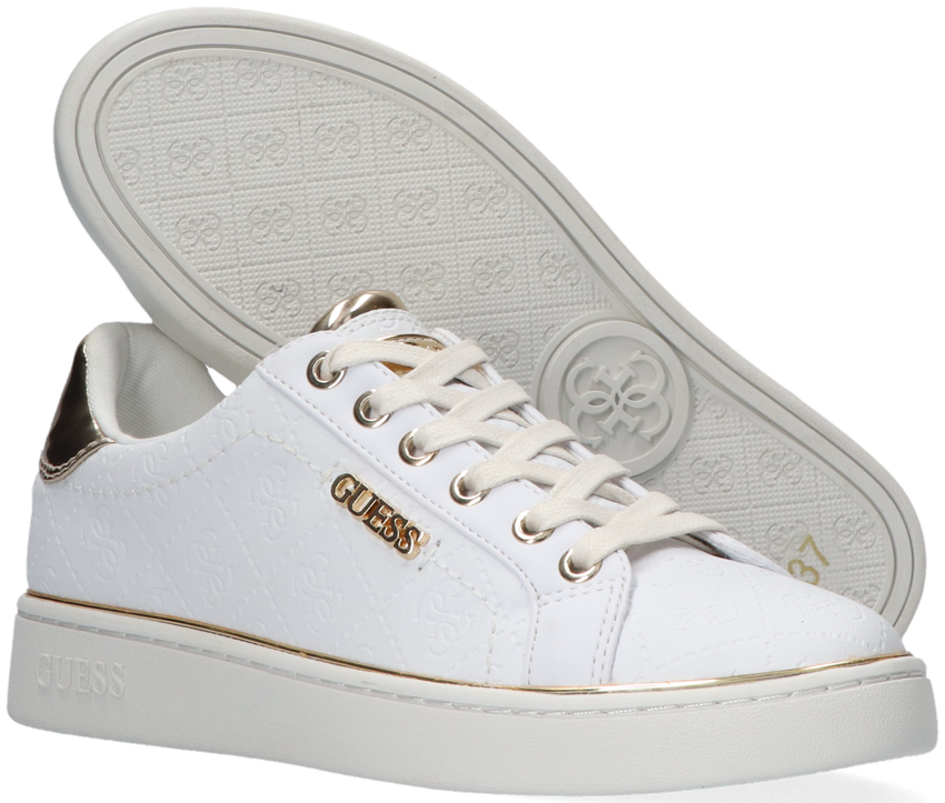 Witte GUESS Sneakers BECKIE  - larger