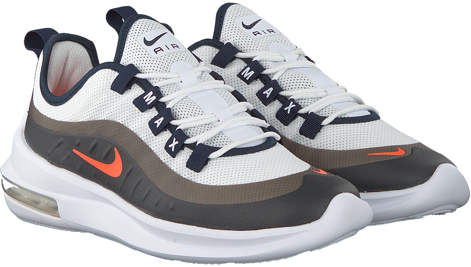 Witte NIKE Sneakers AIR MAX AXIS mannen Omoda.be