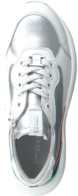 Witte APPLES & PEARS Lage sneakers FLOWER  - large