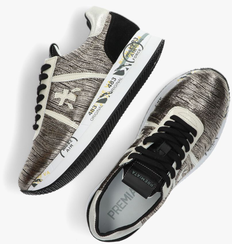 Gouden PREMIATA Lage sneakers CONNY  - larger