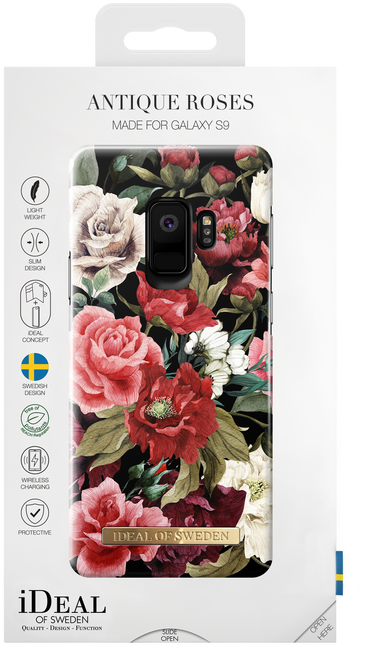 Roze IDEAL OF SWEDEN Telefoonhoesje FASHION CASE GALAXY S9 - large