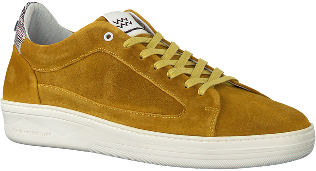 Gele FLORIS VAN BOMMEL Lage sneakers 13265  - large