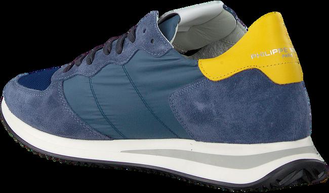 Blauwe PHILIPPE MODEL Lage sneakers TRXP L D  - large