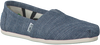 Blauwe TOMS Espadrilles CLASSIC  - small