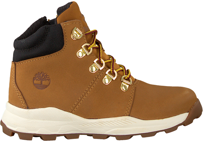 Camel TIMBERLAND Veterboots BROOKLYN HIKER KIDS  - large