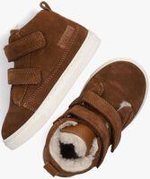 Cognac TON & TON Hoge sneaker STEYN  - medium