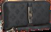 Zwarte GUESS Portemonnee PEONY CLASSIC SLG LRG  - small