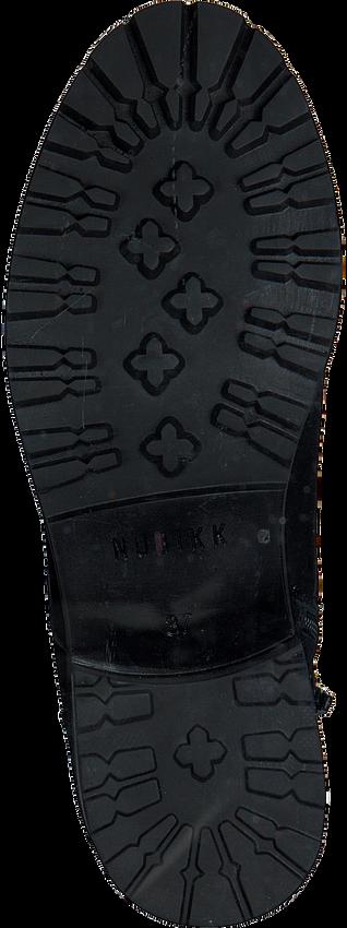 Zwarte NUBIKK Veterboots DJUNA CONE FUR  - larger