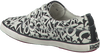 Witte BRAQEEZ Sneakers PRINT BLACK/WHITE  - small