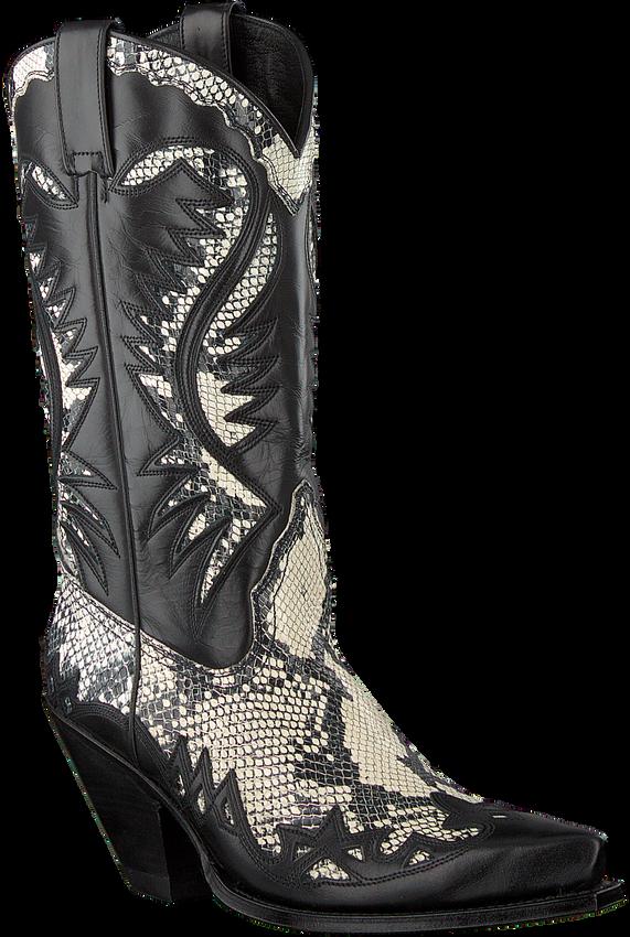 Zwarte SENDRA Cowboylaarzen 16140 - larger