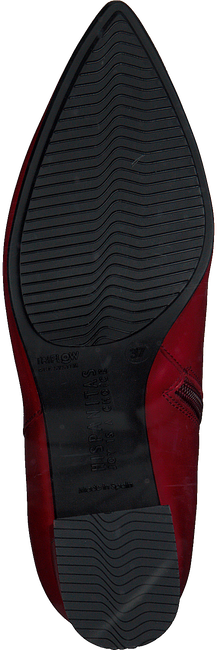 Rode HISPANITAS Enkellaarsjes AMELIA-5  - large