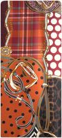 Oranje ABOUT ACCESSORIES Sjaal 384.78.709.0  - medium
