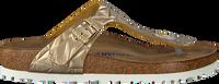 Gouden BIRKENSTOCK PAPILLIO Slippers GIZEH SPECTRAL  - medium