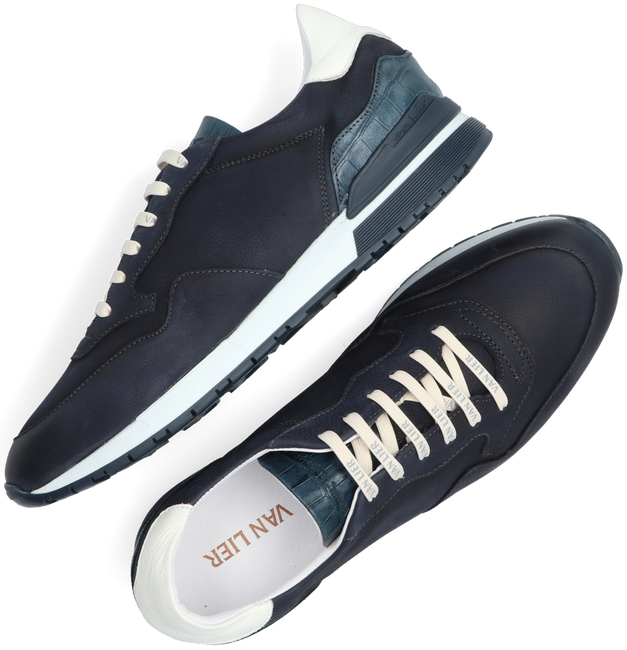 Blauwe VAN LIER Lage sneakers CHAVAR  - large