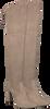 Taupe UNISA Overknee laarzen PALMA  - small