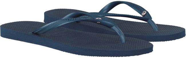 Blauwe HAVAIANAS Slippers SLIM CRYSTAL GLAMOUR  - large