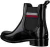 Zwarte TOMMY HILFIGER Regenlaars CORPORATE RAINBOOT  - small