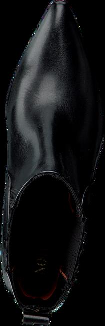 Zwarte NOTRE-V Enkellaarsjes 02A-201  - large